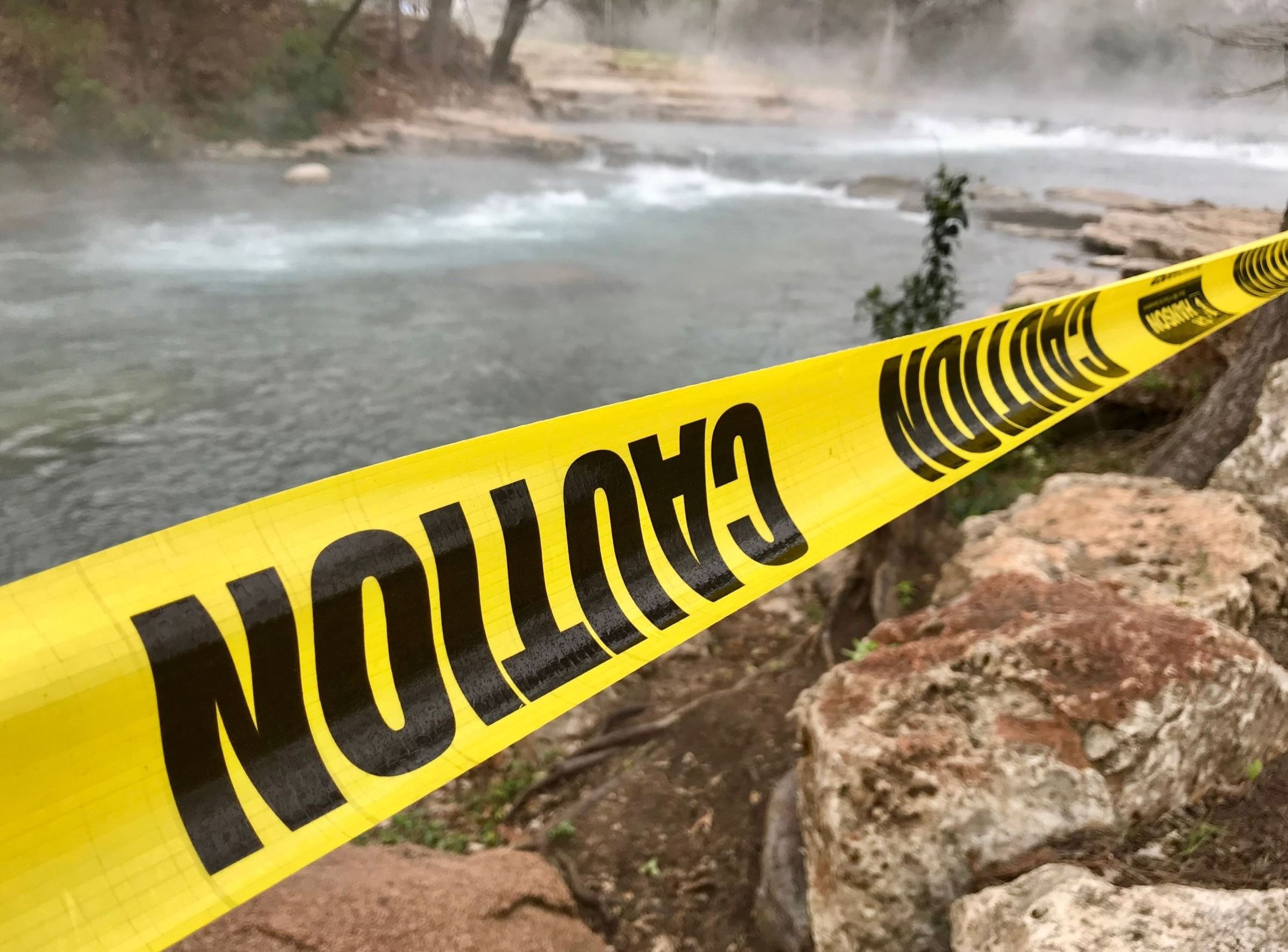 Rio Vista Falls closed off