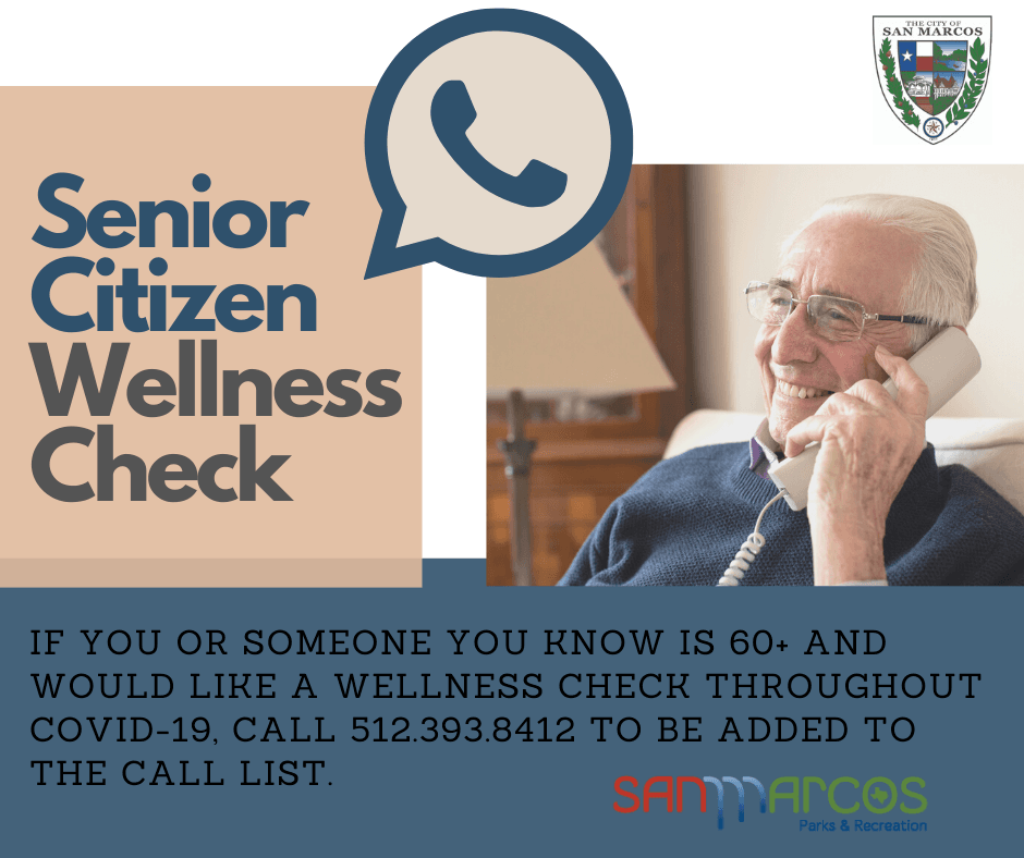Senior Citizen Wellness Check FB Image
