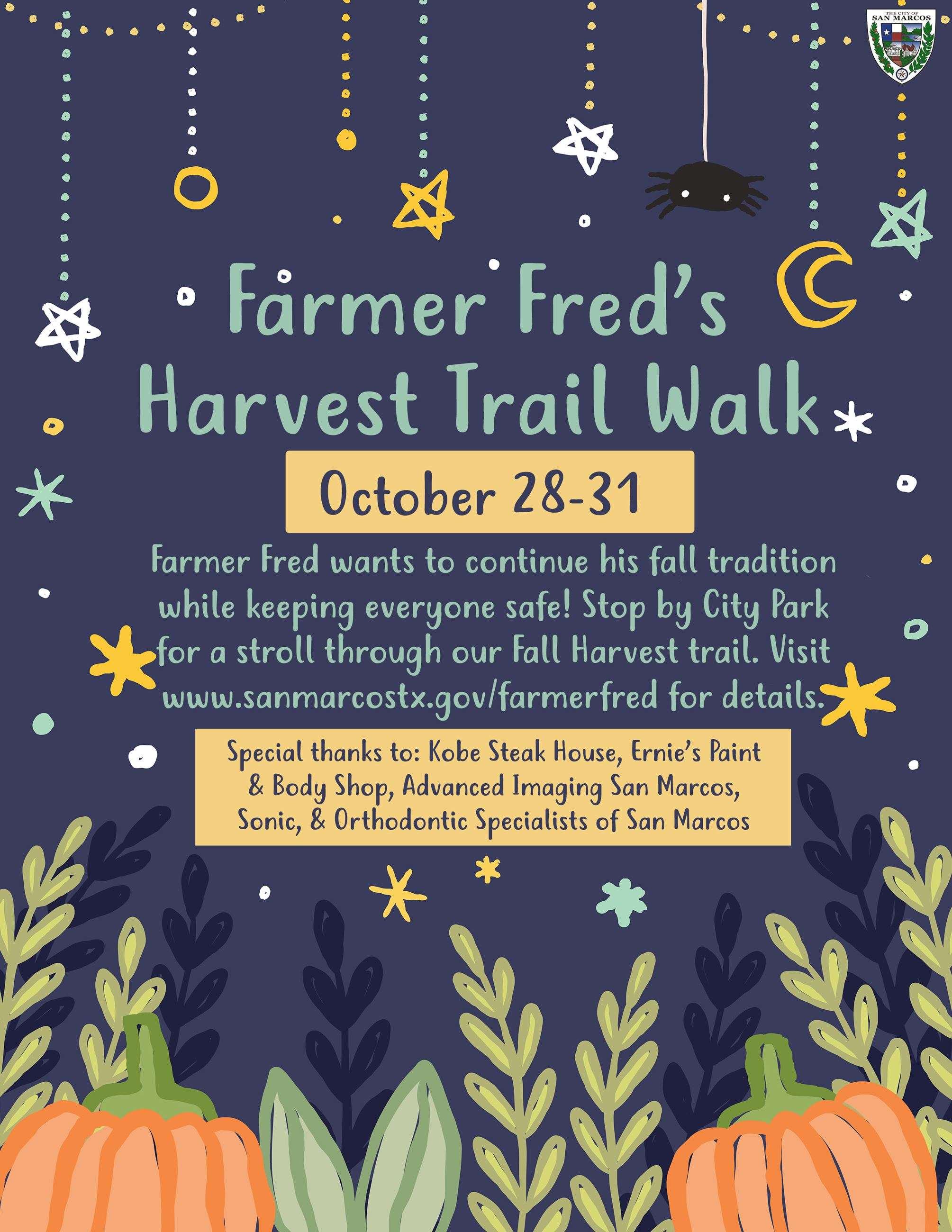 Farmer Freds Harvest Trail Walk