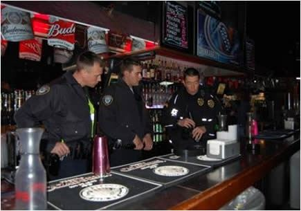 Officers Conduct a Bar Check to Ensure Compliance With TABC Laws