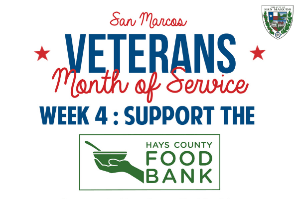 Veterans month of service final week opportunity