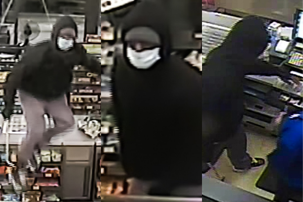 Sunoco Robbery Video Surveillance photos