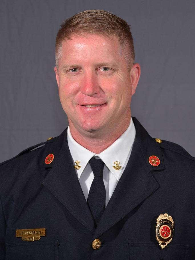 John Koenig, Battalion Chief