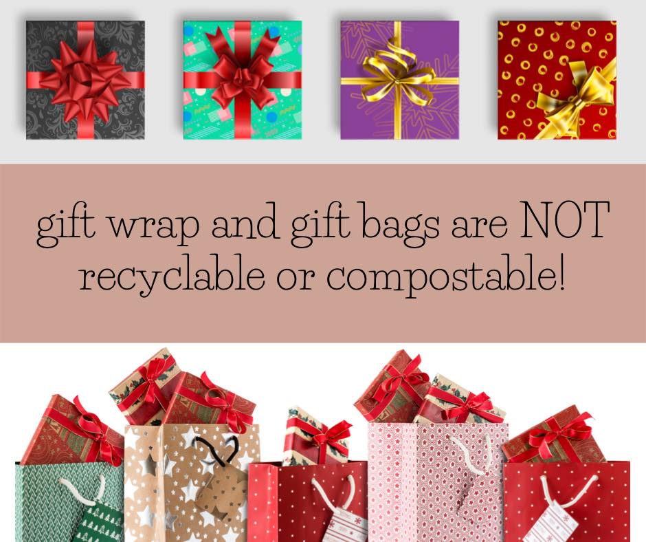How to dispose of gift packaging