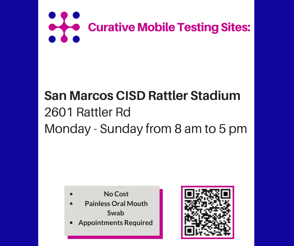 San Marcos Curative Testing Location