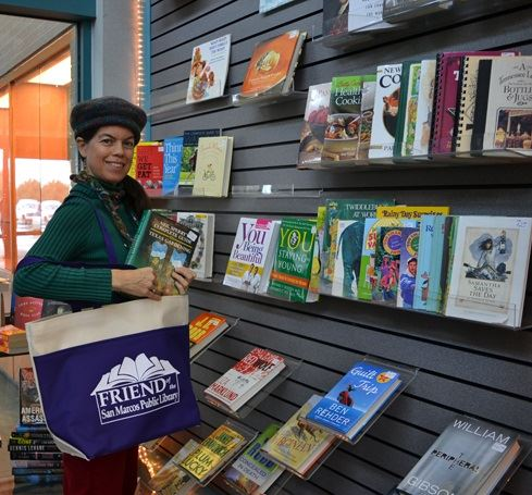 Patron Buying Books