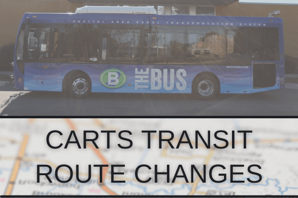 CARTS Route Change