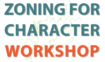 Zoning for Character Workshop Logo