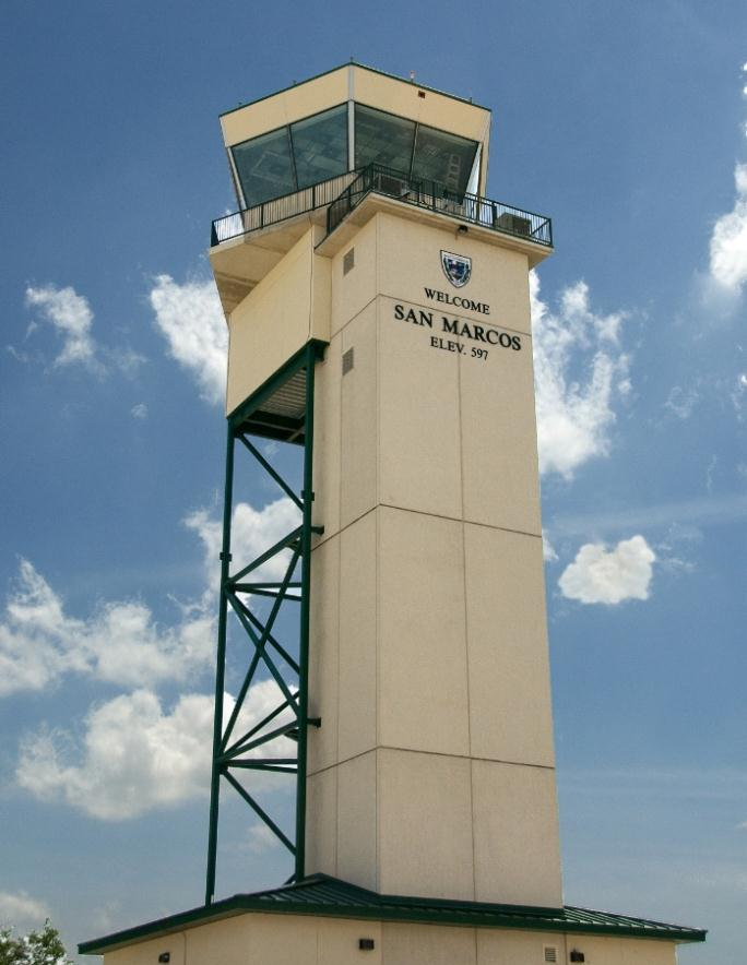 San Marcos Air Traffic Control Tower