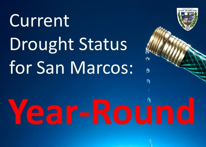 Current Drought Status for San Marcos