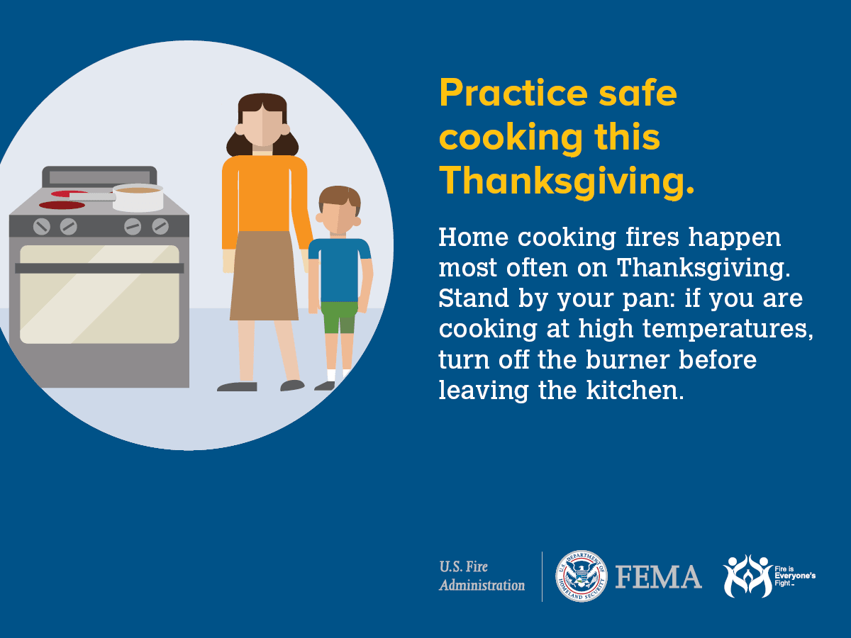 thanksgiving safety tips FEMA