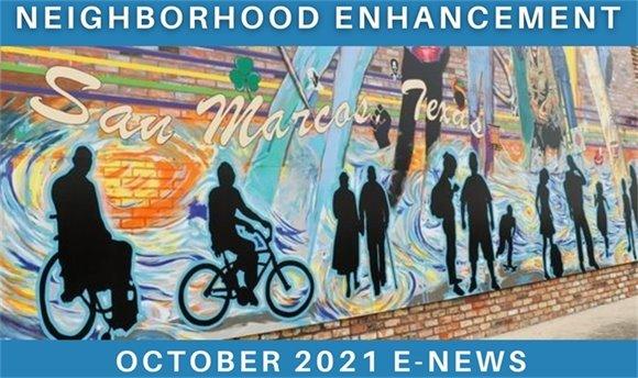 San Marcos Neighborhood Enhancement Update