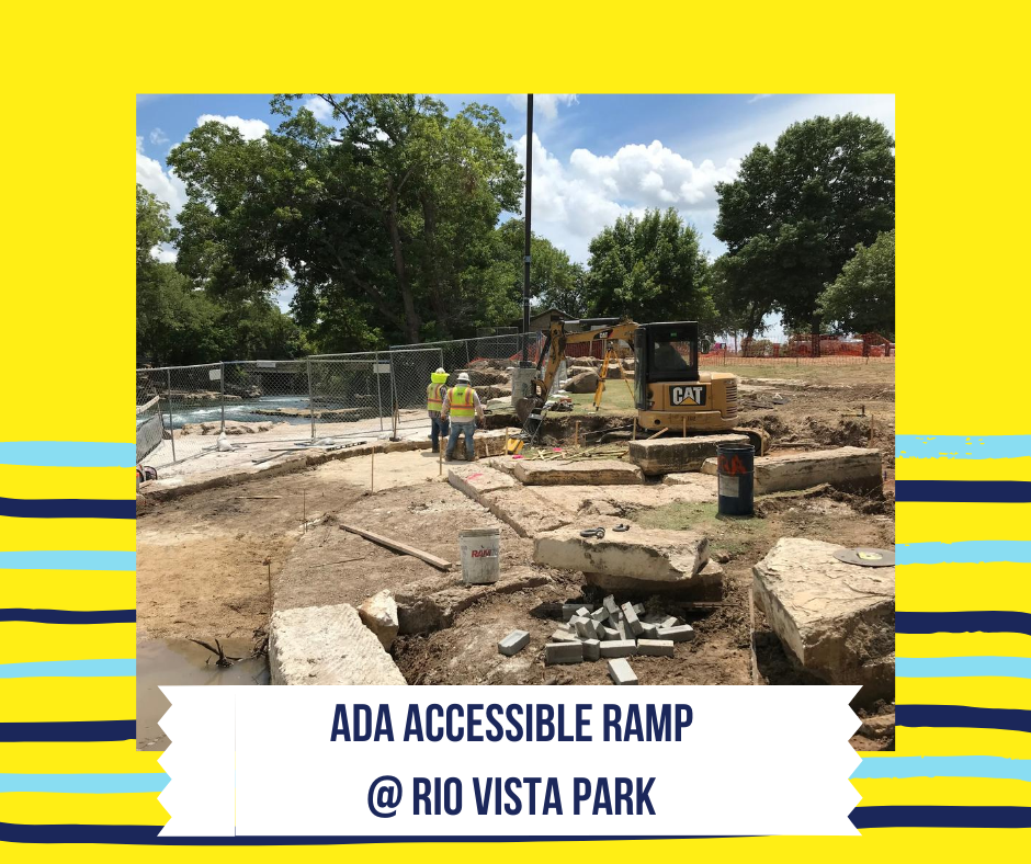 ADA Accessible ramp @ Rio Vista Park