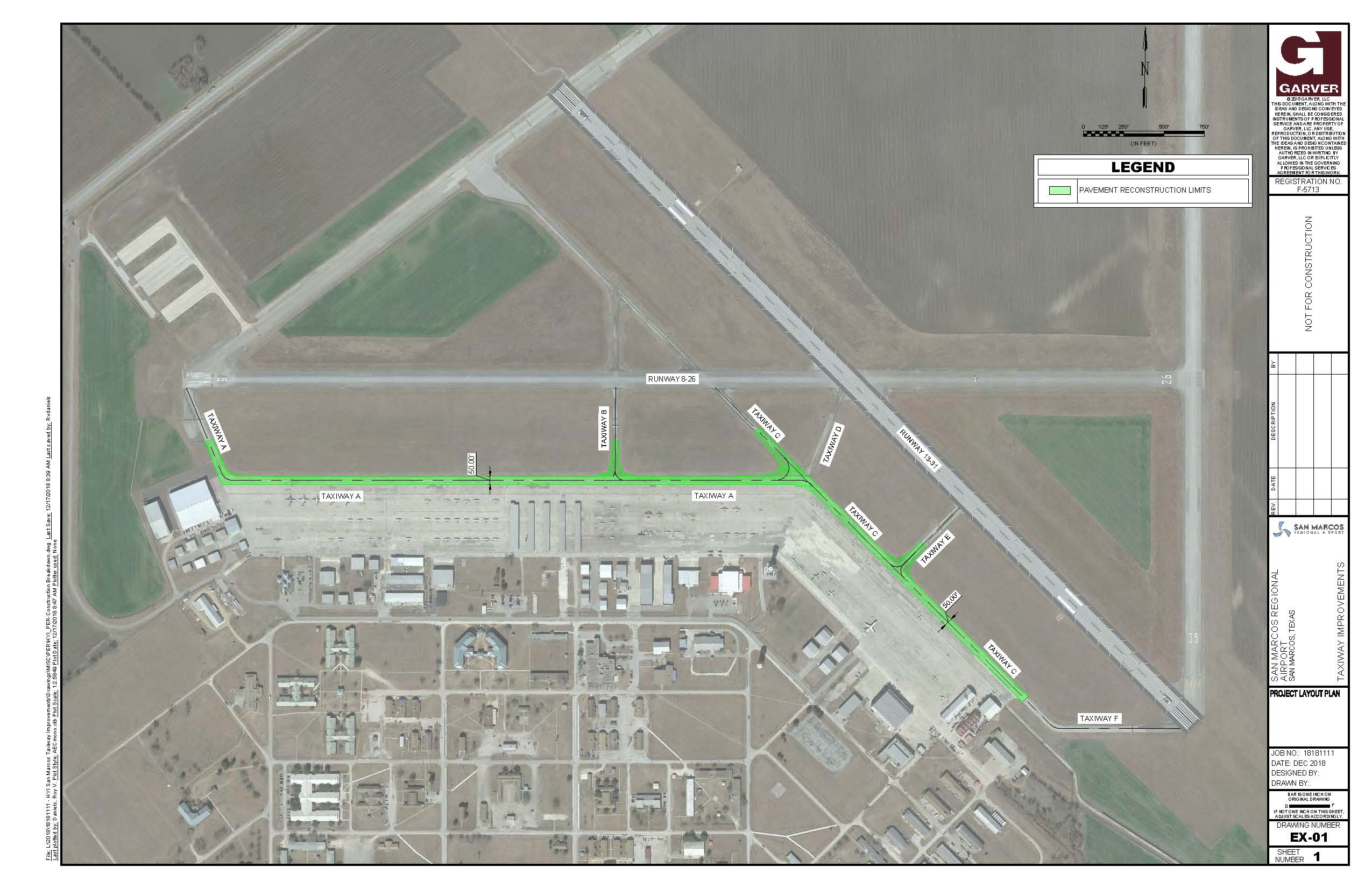Alpha and Charlie Taxiway Improvements-Exhibit