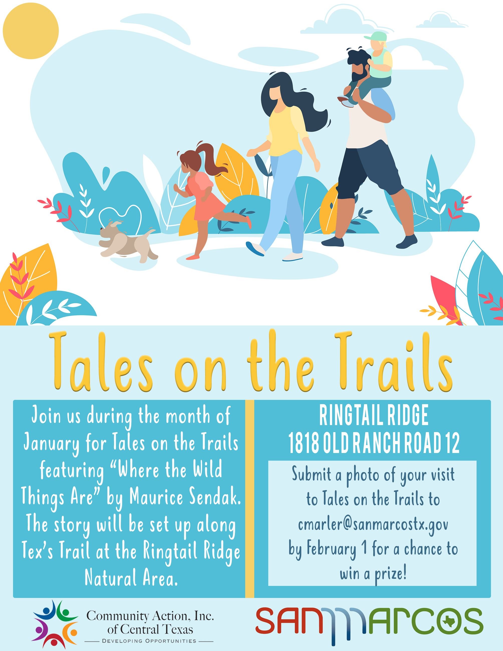 Tales on the Trails - January