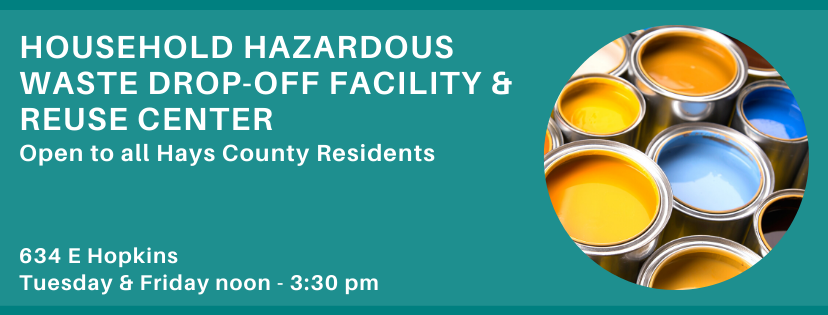 Household Hazardous Waste Drop-Off Facility and Reuse Center