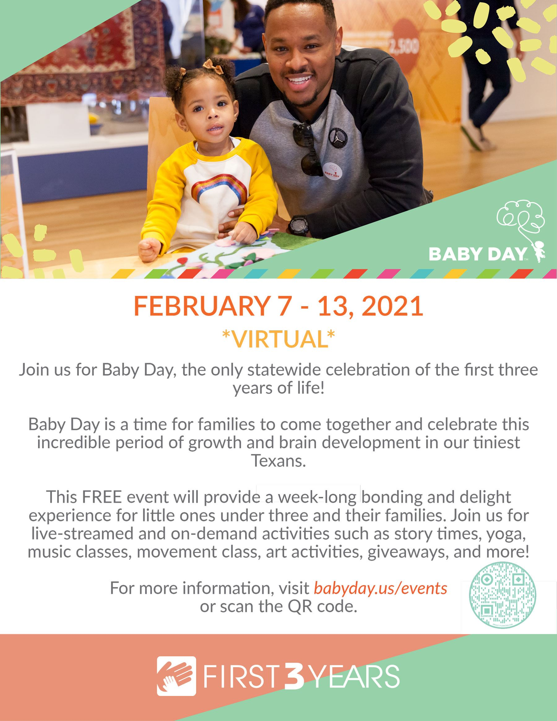Baby Day Flyer Virtual