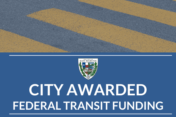 Funds awarded towards transit operations
