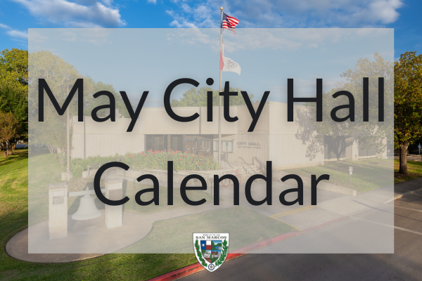 May City Hall Calendar
