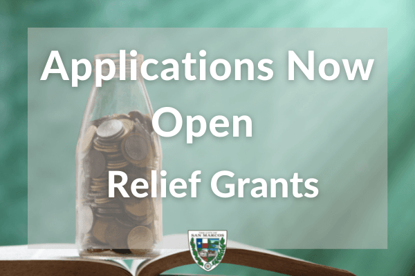 Applications Now Open Coronavirus Relief Grants