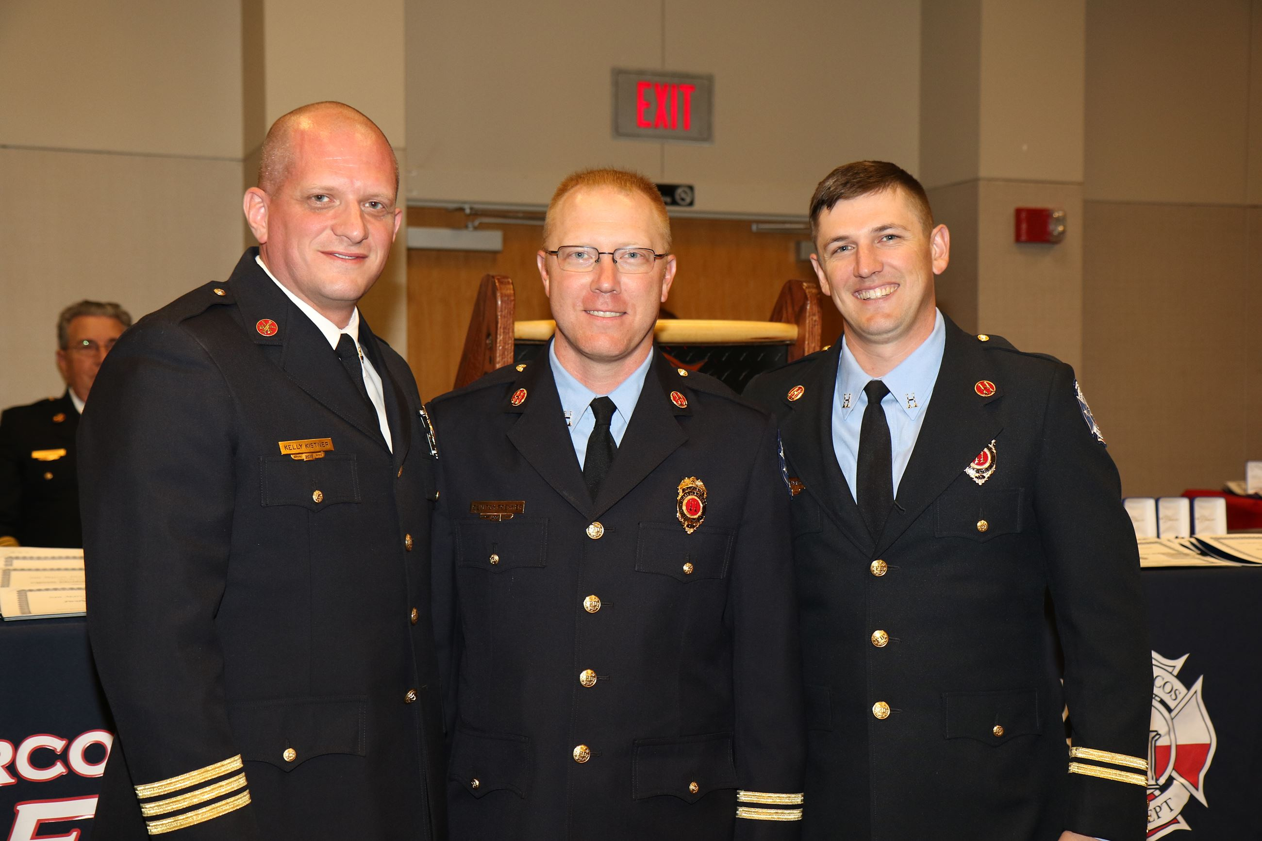 Fire Marshal Kelly Kistner, Captains Clint Foehner & Jonathan Henderson
