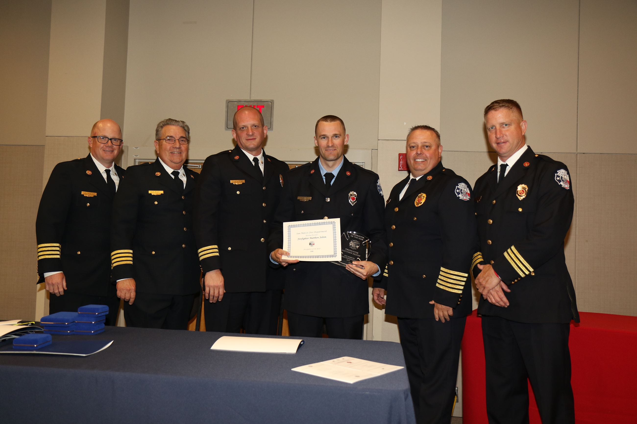 Matthew Felton Firefighter of the Year